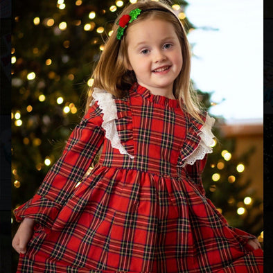 TARTAN PLAID DRESS