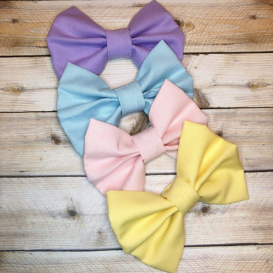 EASTER PASTEL BOW - Honey Beez