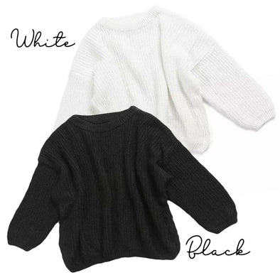 Kids Oversized Sweater