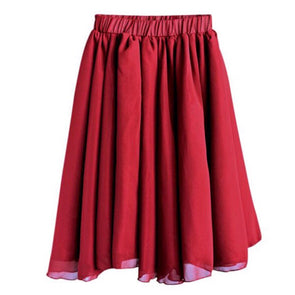 AVA MAXI SKIRT *WINE - Honey Beez