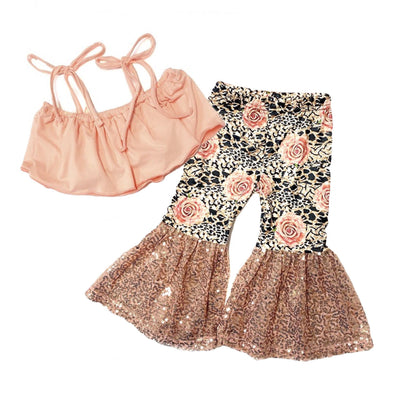 PEACH ROSE BELL SET - Honey Beez