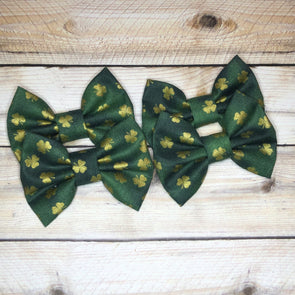 LUCKY SHAMROCK BOW - Honey Beez