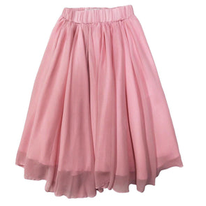 AVA MAXI SKIRT *PINK - Honey Beez
