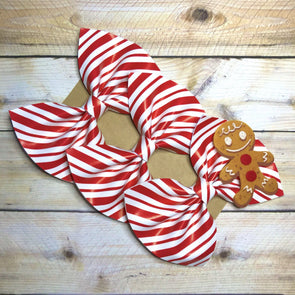 GINGERBREAD FAN BOW - Honey Beez
