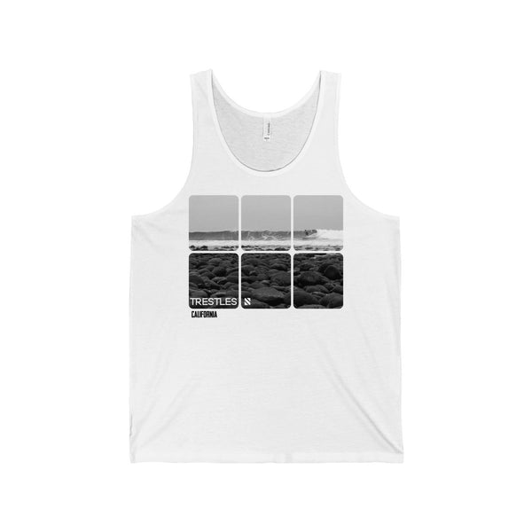 """Trestles"" Men's Cotton Tank"