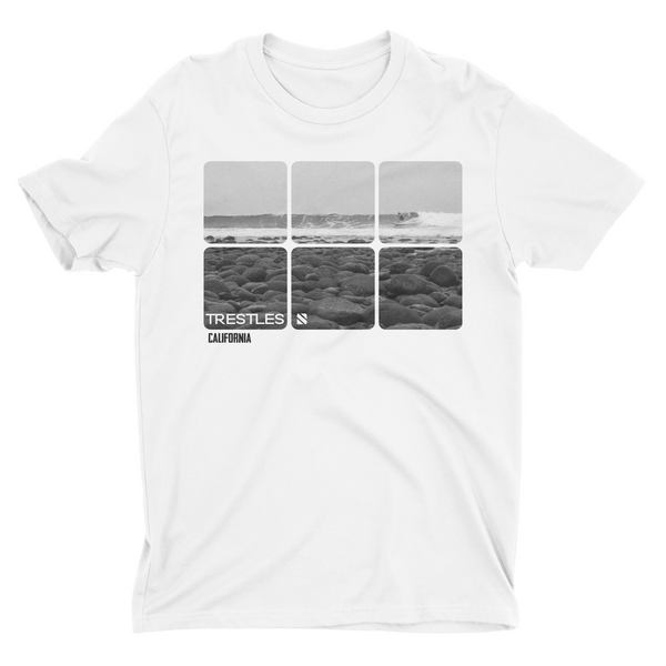 """Trestles"" Men's Premium Fitted Short-Sleeve Crew Neck T-Shirt"