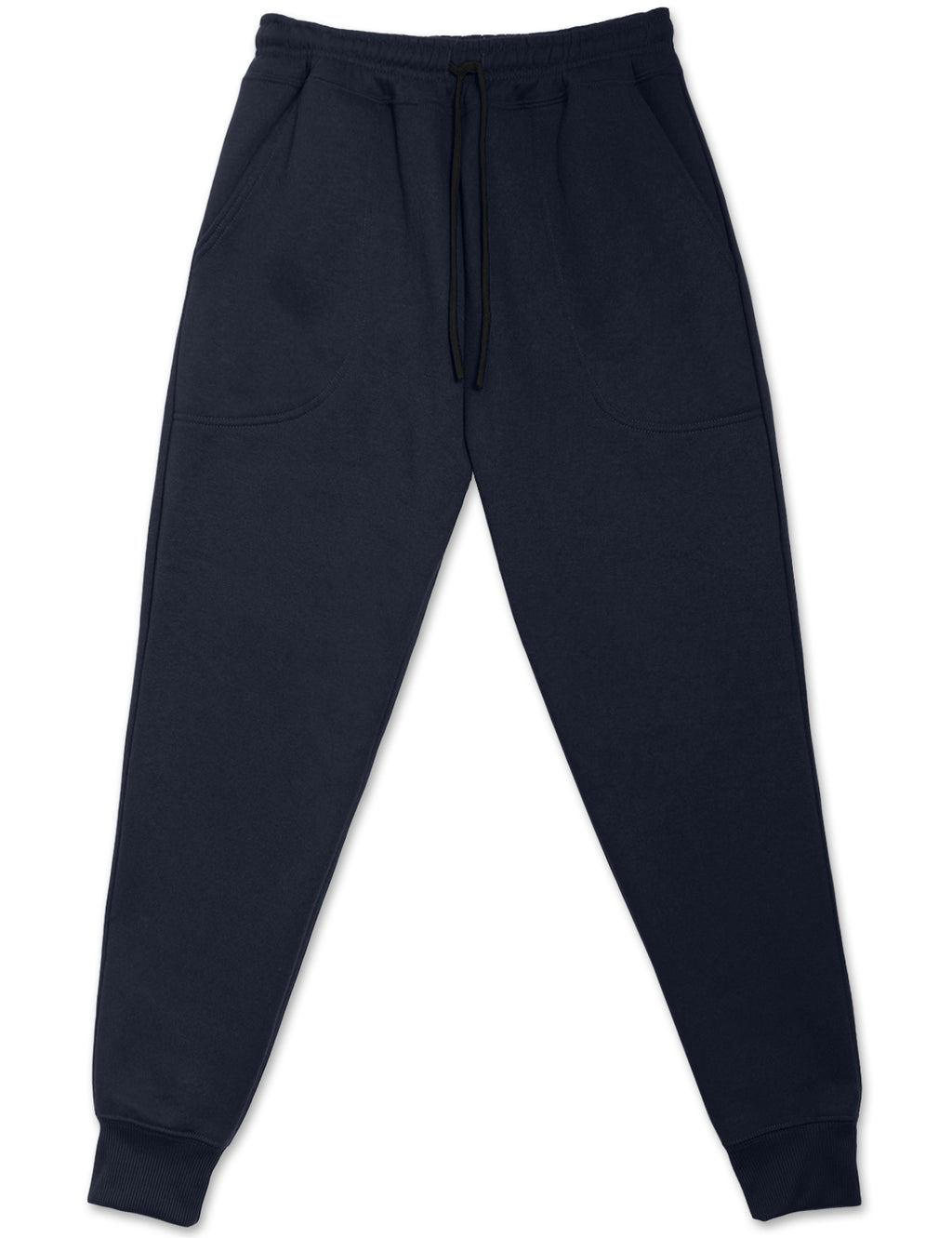 Fleece Jogger Sweatpants (Navy)