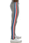 Track Pants Tri-Colored Side Stripe (3 Colors)