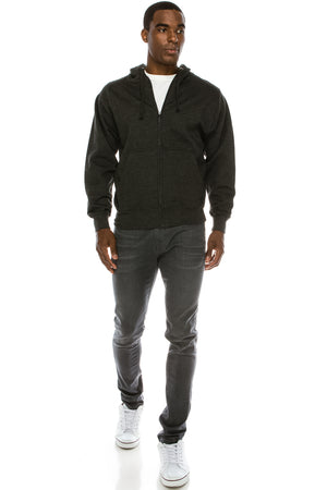 Zip Up Hoodie Sweatshirts (9 Colors)