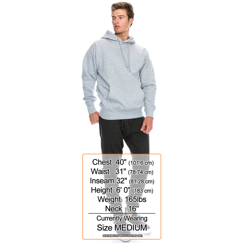 Slim Fit Fleece Hoodies