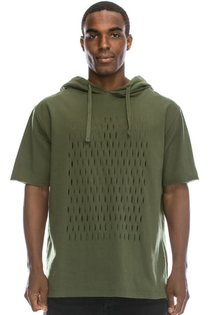French Terry Hoodie Shirts (4 Colors)