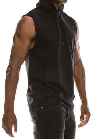Muscle Hooded Tank Top