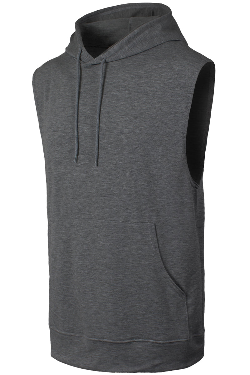 Muscle Hooded Tank Tops