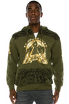 Gold Foil Money Print Hoodie (2 Colors)