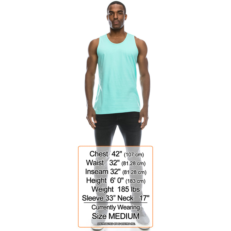 Basic Solid Jersey Tank Top (Mint)
