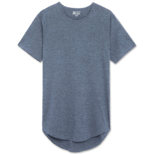 Drop Cut Longline T-shirts - 10 Colors