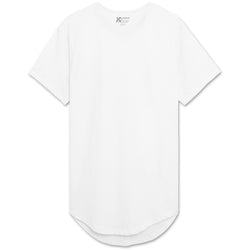 Drop Cut Longline T-Shirts