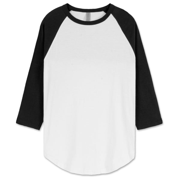 Raglan 3/4 Sleeve Baseball T-shirt