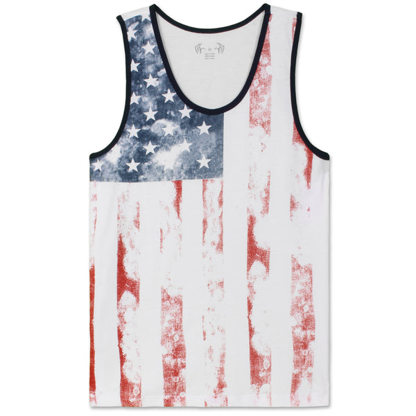 American USA Flag Tank Top