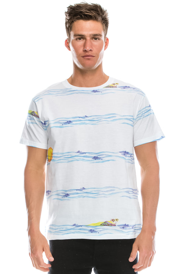 Water Colored Beach T-Shirt