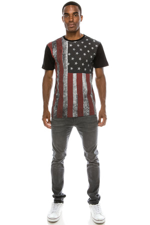 USA American Flag All-Star T-shirt
