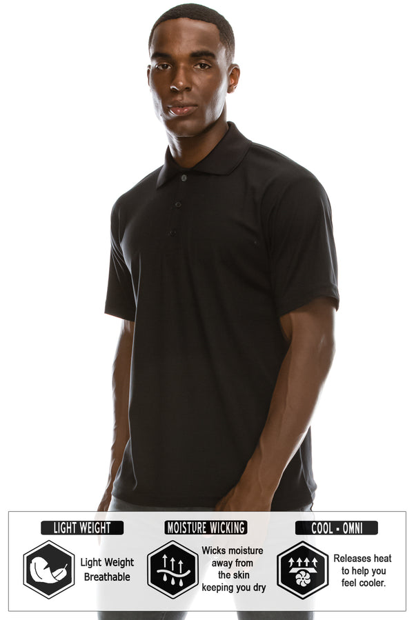 Active Dri-Fit Polo Shirts