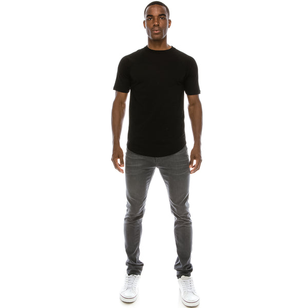 Heavyweight Drop Cut Longline T-Shirts