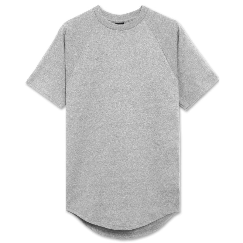 Heavyweight Drop Cut Longline T-Shirt - 3 Colors