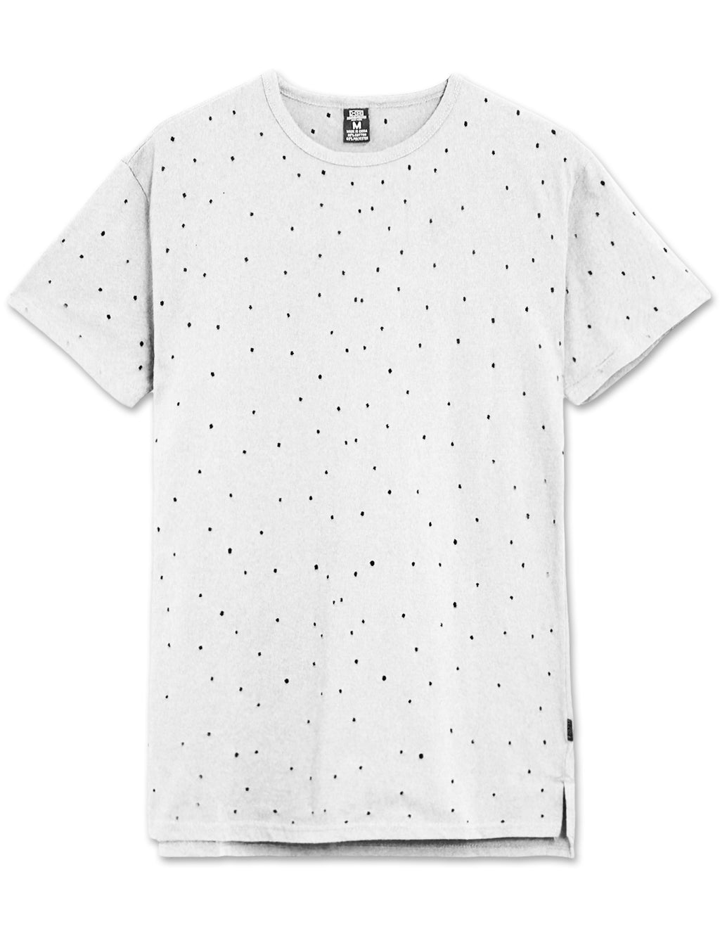 Hole Punched Distressed T-Shirt (5 Colors)