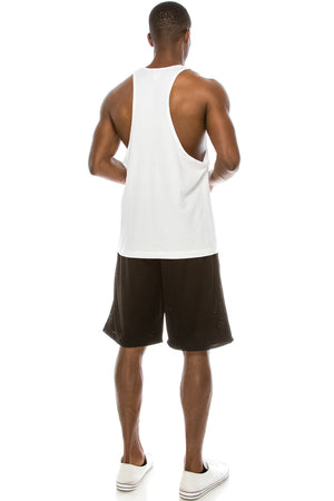 Unisex Deep Cut Muscle Tank Top (6 Colors)