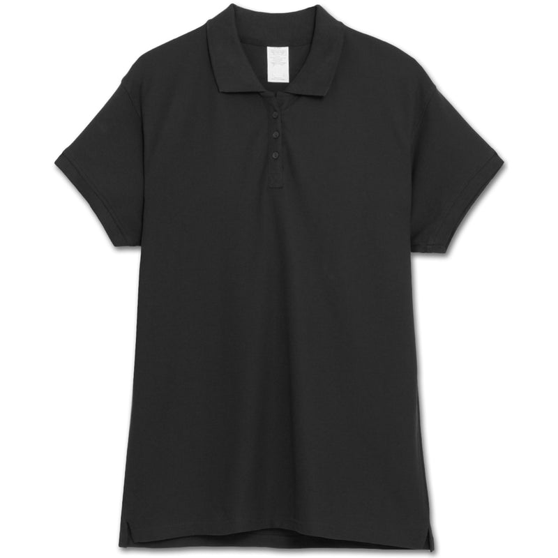 Plus Size Pique Polo Shirts