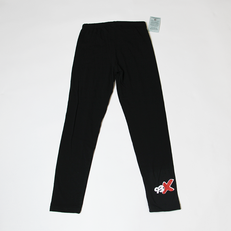 93X Ladies Black Legging