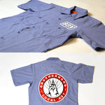 93X Industrial Short Sleeve Work Shirt (Light Blue)