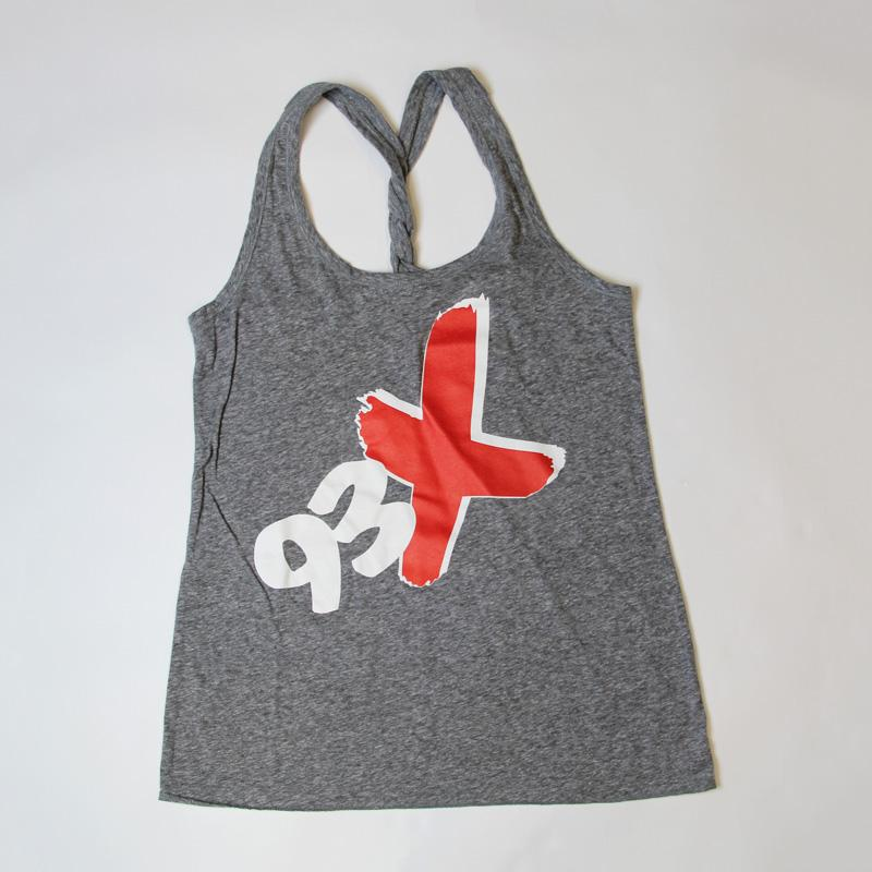 93X Ladies Twist Back Tank