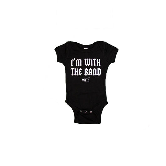 93X I'm With the Band Onesie