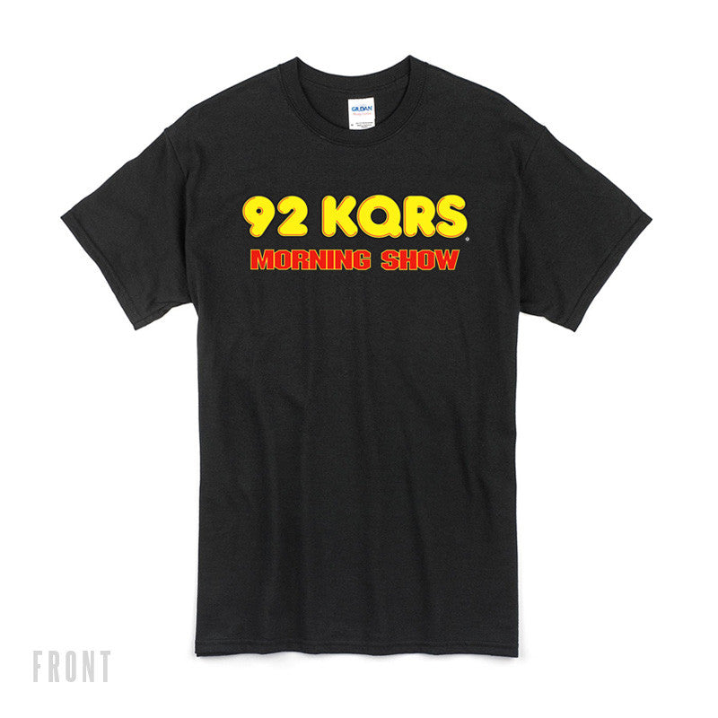 """Come Again?"" KQ Morning Show Tee"