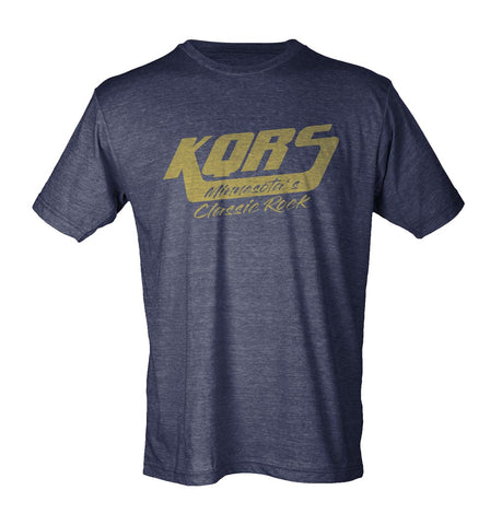 KQ Navy and Gold Tee