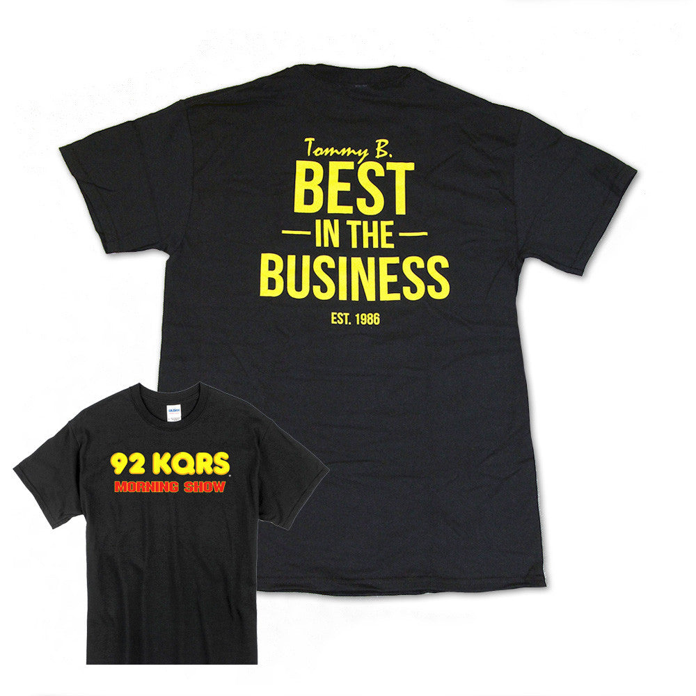 "Tommy B. ""Best In The Business"" KQ Morning Show Tee"