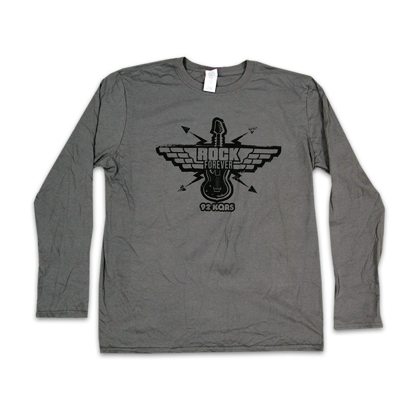"""Rock Forever"" Guitar Long Sleeve Tee"