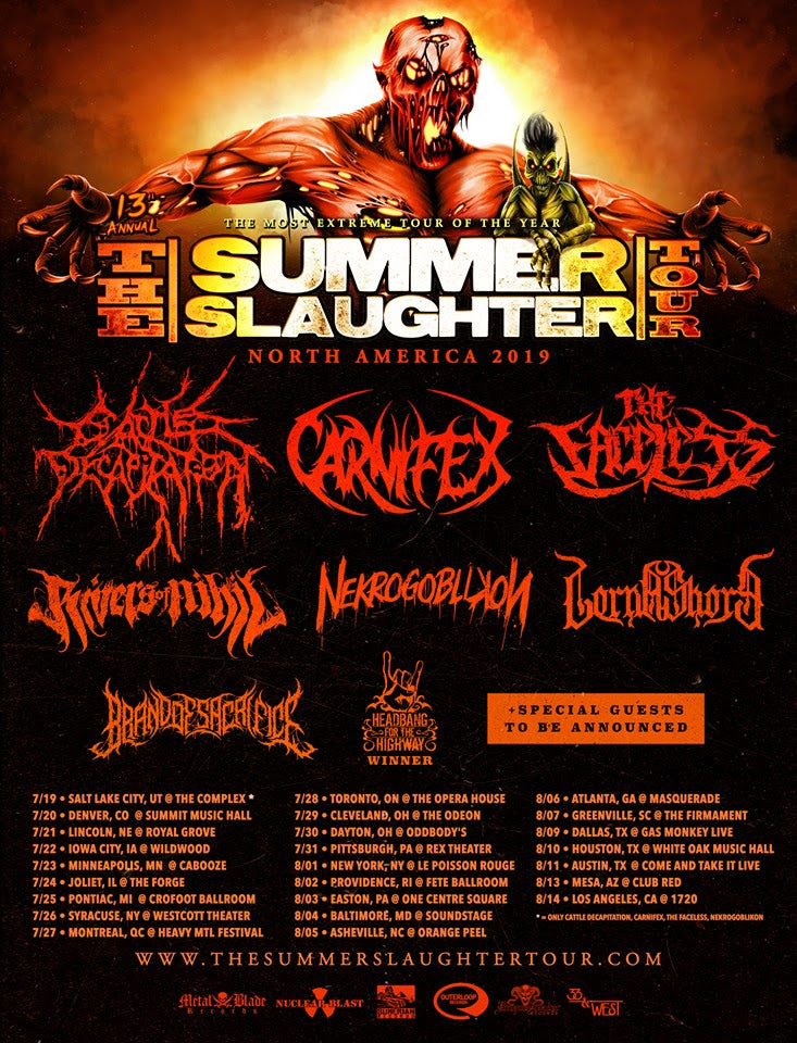 Heavy-Vinyl Presents: Summer Slaughter Tour Live Coverage
