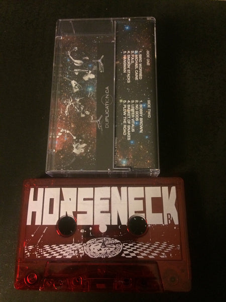 "Horseneck-""Heavy Trip"" Red Cassette, Limited to 100, Includes a Download Card"