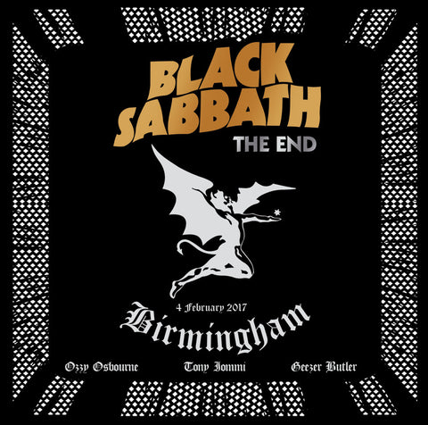 "Black Sabbath-""The End:Live From the Genting Arena, Birmingham, 2017"" Triple Black 180 Gram Vinyl Set"