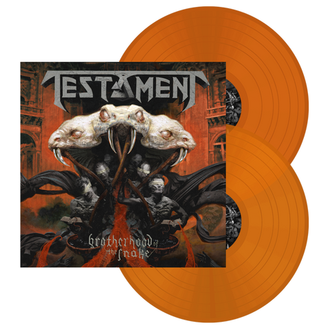 "Testament - ""Brotherhood of the Snake"" Orange Vinyl"