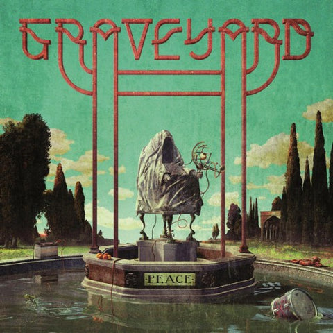 "Pre-Order! Graveyard-""Peace"" Limited Yellow w/ Black Splatter (Indie Retail Exclusive), Red w/ White Splatter, or Red Cassette."