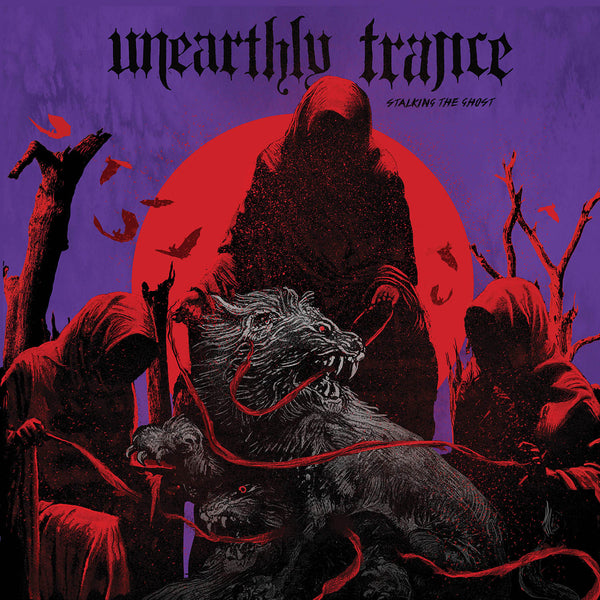 "Unearthly Trance-""Stalking The Ghost"" Limited Purple/Red Merge and Black/White Splatter"