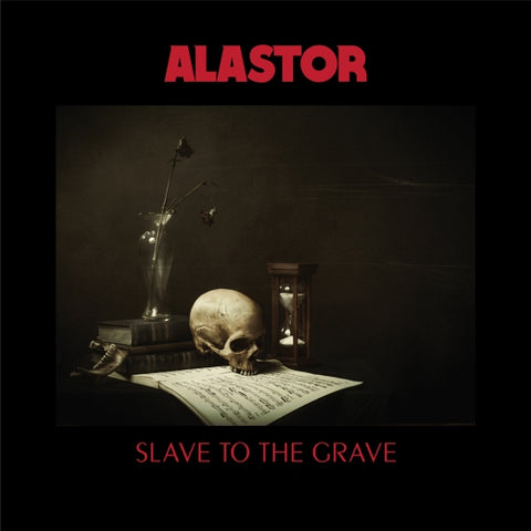 "Alastor-""Slave to the Grave"" 180 Gram Black Double Vinyl"