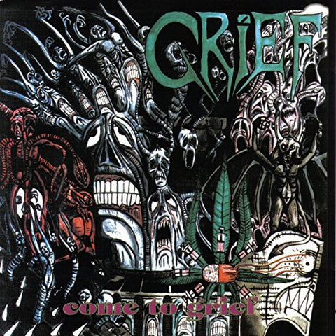 "Grief-""Come to Grief"" Crystal Clear Double Vinyl with Gatefold Sleeve, Limited to 200."
