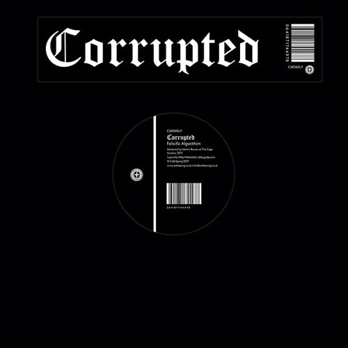 "Corrupted- ""Felicific Algorithm"" Limited 12"" w/ Fold Out Poster"