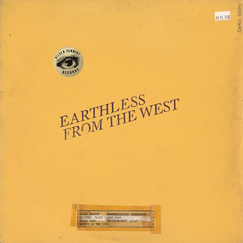 "Earthless-""From The West"" Black Vinyl"