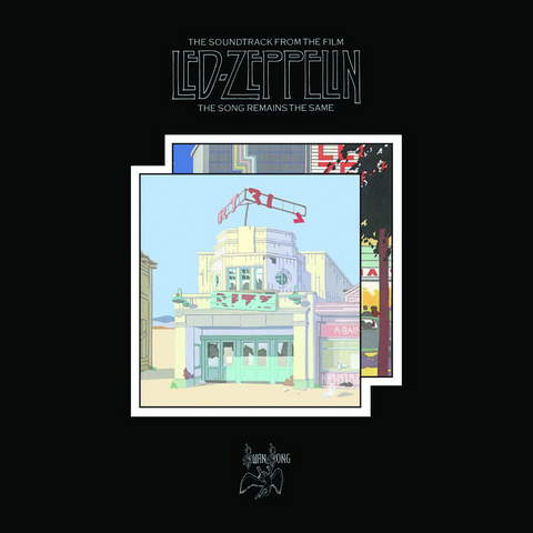"Random Pick! Led Zeppelin-""The Song Remains the Same"" Super Deluxe 2CD/4LP/3DVD Box"
